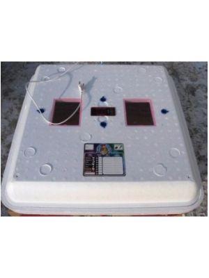 Инкубатор «Рябушка ИБ-100» с автоматическим переворотом, цифровой терморегулятор, тэновый + вентилятор