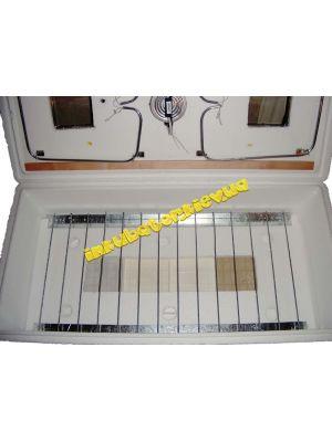 Инкубатор бытовой ИБ-100 на 120 яиц с механическим переворотом для перепелов