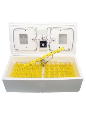 Малогабаритный цифровой бытовой инкубатор ИБ-100Э-А с автоматическим переворотом и вентилятором