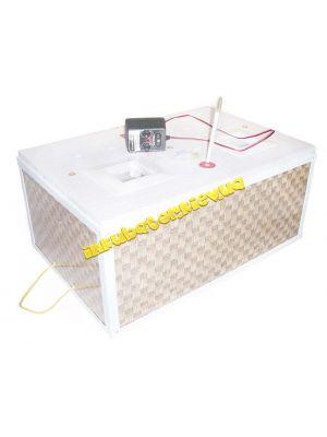 Инкубатор механический «Курочка Ряба» ИБ-100 вместимостью 100 яиц с двойным пластиковым корпусом и металлическим каркасом