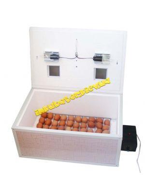 """Инкубатор автоматический """"Курочка Ряба"""" ИБ-100 вместимостью 100 яиц с двойным пластиковым корпусом и металлическим каркасом"""