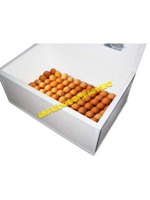 """Инкубатор ручной """"Курочка Ряба"""" ИБ-100 вместимостью 100 яиц с металлическим каркасом"""