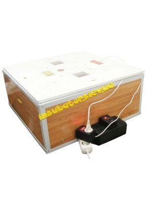 """Інкубатор автоматичний """"Курочка Ряба"""" ІБ-130 місткістю 130 яєць з подвійним пластиковим корпусом"""