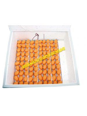 """Инкубатор автоматический """"Курочка Ряба"""" ИБ-130 вместимостью 130 яиц с двойным пластиковым корпусом"""