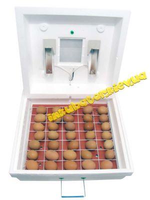 Інкубатор «Рябушка-2» ІБМ-70 на 70 яєць з механічним переворотом