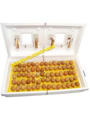 Інкубатор «Рябушка» ІБ-130 на 130 яєць з цифровим терморегулятором і звуковим сповіщенням