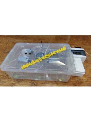 Інкубатор Курочка Ряба ІБ-56 автомат на 56 яєць, вентилятор, з зволожувачем, пластиковий бокс
