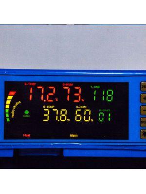 """Инкубатор автоматический """"Говорун-128"""" (программируемый, двухъярусный, роликовый поворот, с овоскопом)"""