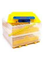 Инкубатор автоматический «Говорун-112 N2» 12В (2-ярусный для любых типов яиц с овоскопом и увлажнителем)