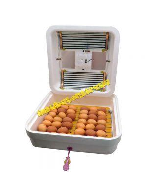 Инкубатор бытовой механический «Рябушка ИБМ-70» / цифровой выносной терморегулятор / ТЭН
