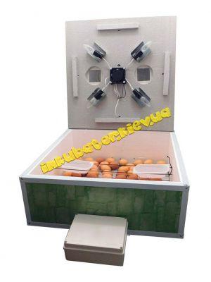 Инкубатор автоматический «Курочка Ряба» ИБ-160Ц с вентилятором