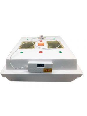 """Электронный цифровой инкубатор """"Квочка МИ-30-1-Э"""" на 80 яиц с корпусным переворотом (лампы)"""