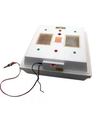 """Электронный цифровой инкубатор """"Квочка МИ-30-1Э-12"""" на 80 яиц с корпусным переворотом"""