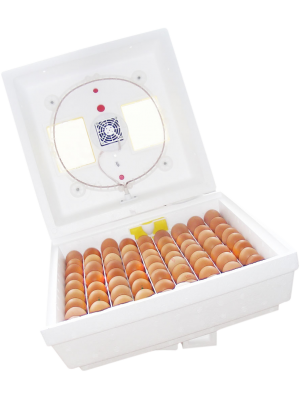 """Электронный цифровой инкубатор """"Квочка МИ-30-1-Э"""" на 80 яиц с корпусным переворотом (тепловой шнур)"""