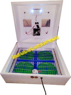 """Инкубатор """"Наседка ИБ-120"""" на 72 яйца с автоматическим переворотом (12 В)"""