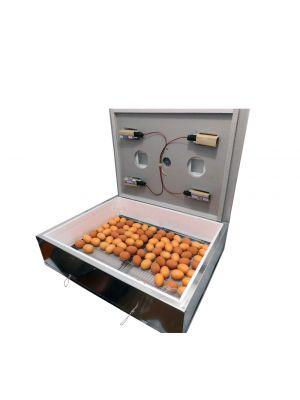 Инкубатор бытовой «Наседка ИБМ-140» на 140 яиц / усиленный оцинкованный корпус