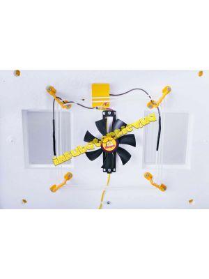 """Инкубатор автоматический для яиц """"Теплуша"""" 220/12 В на 63 яйца с ТЭНом и цифровым терморегулятором + влагомер"""