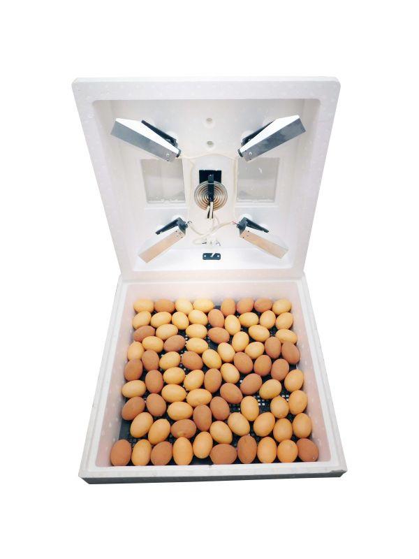 Інкубатор 85 яєць (2 камерна мембрана, теновий нагрівач, спиртовий термометр) Черкаси