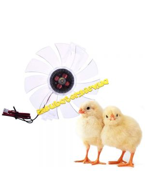 Міні-вентилятор для інкубатора для рівномірної температури 12 В