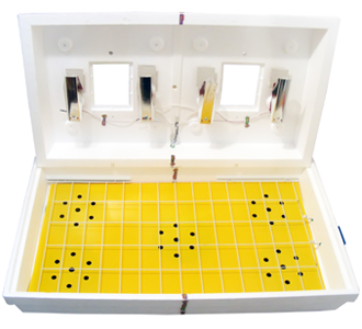 С ламповым нагревателем Тип терморегулятора электронный