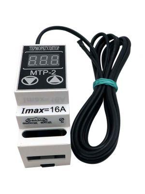 Цифровий терморегулятор МТР-2 - 16A DIN-рейка