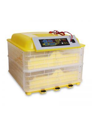 Инкубатор автоматический HHD YS-96 на 96 яиц 220/12 В с регулятором влажности (в пластиковом корпусе)