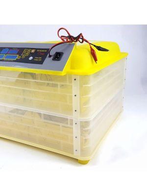 Інкубатор автоматичний HHD YS-112 на 112 яєць 220/12 В з регулятором вологості (в пластиковому корпусі)
